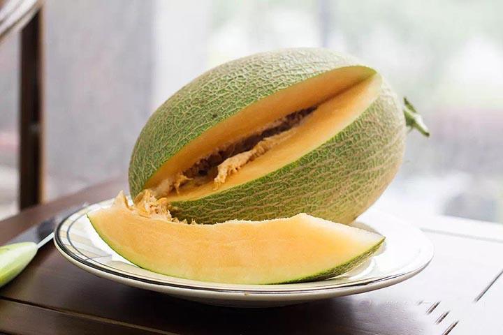 不一样的哈密瓜吃法