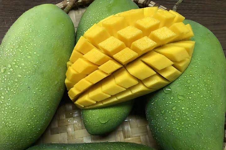 青芒果硬的能直接吃吗