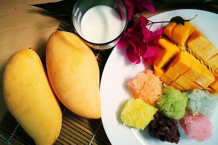 芒果和牛奶可以一起吃吗
